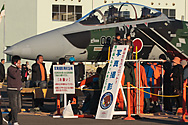 no photos of this F-15 in the static display...