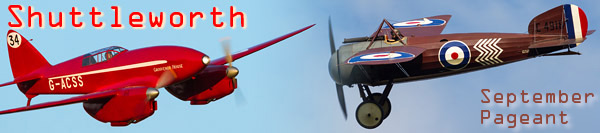 Shuttleworth Military Pageant Airshow 2014