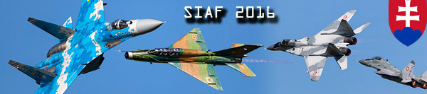 SIAF 2016 - Slovak Airshow and Air Fest at Sliac