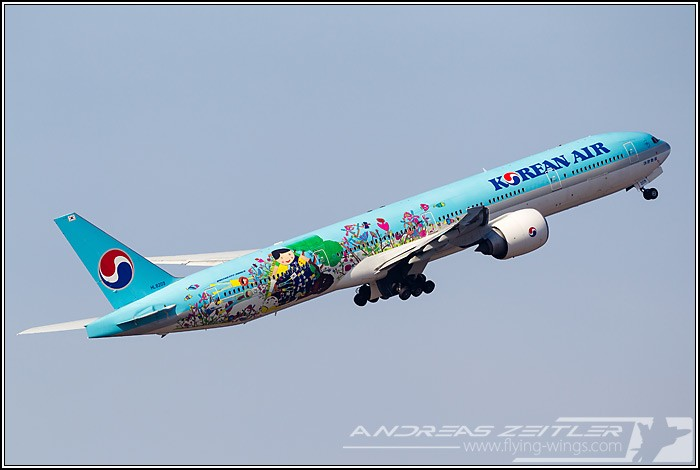 Nagoya Korean Air 1894 Zeitler 700 470 90